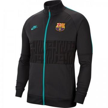Barcelona Bevonuló pulóver 2019/20 (fekete)