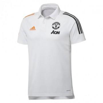 Manchester United Galléros Póló 2020/21 (fehér)
