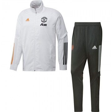 Manchester United Szabadidőruha 2020/21 (fehér)