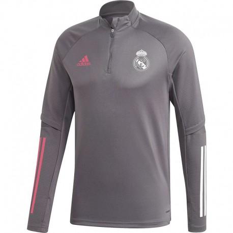 Real Madrid Edzőpulóver 2020/21 (Szürke)