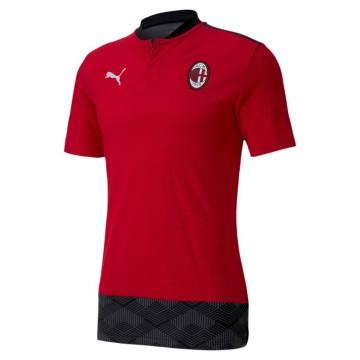 Ac Milan gombos póló 2020/21 (Piros)