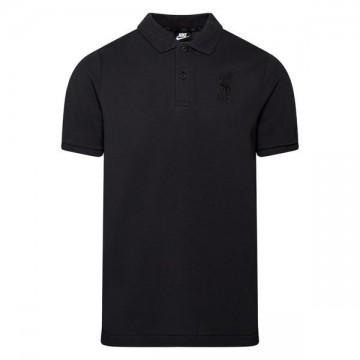 Liverpool galléros póló 2020/21 (fekete)