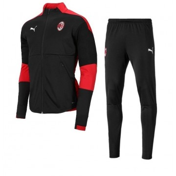 Ac Milan szabadidőruha 2020/21 (Fekete)