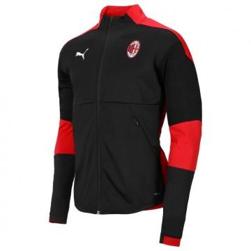 AC Milan bevonuló pulóver 2020/21 (Fekete)