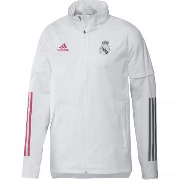 Real Madrid széldzseki 2020/21 (szürke)