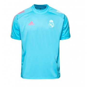 Real Madrid edzőpóló 2020/21 (kék)