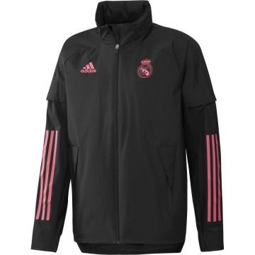 Real Madrid széldzseki 2020/21 (fekete)