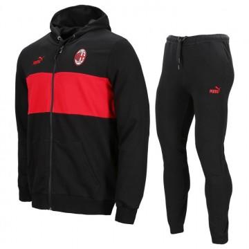 Ac Milan szabadidőruha 2021/22 (Piros-Fekete)