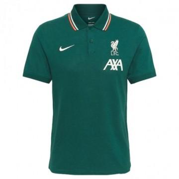 Liverpool galléros Póló 2021/22 (zöld)
