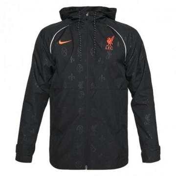 Liverpool kabát 2021/22 (fekete)