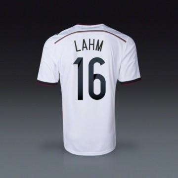 2014-15 Németország Válogatott VB Lahm Hazai mez