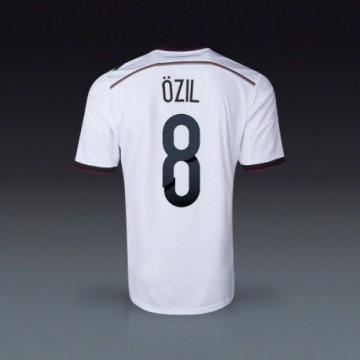 2014-15 Németország Válogatott VB Özil Hazai mez