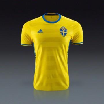 Svédország mez 2016/17 (Hazai)