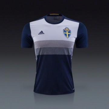 Svédország mez 2016/17 (vendég)