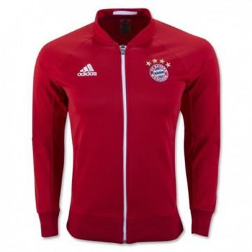 Bayern München 2016/17 Bevonuló Pulóver (piros)