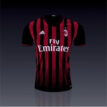 AC Milan mez 2016/17 (Hazai)