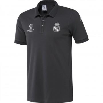 Real Madrid Poló 2016/17 (fekete)