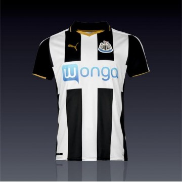 Newcastle United mez 2016/17 Hazai mez