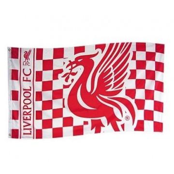 Liverpool Zászló (kockás)