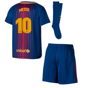 Barcelona Messi feliratú 2017/18-as Gyerek mez szett