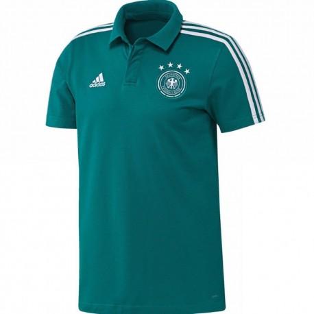Német Válogatott 2017-18 Galléros póló (zöld) 20837cf19e
