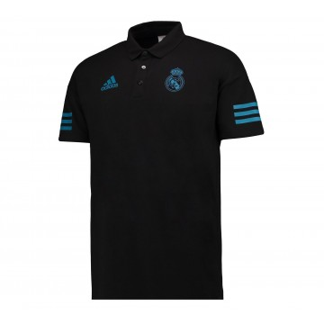 Real Madrid Fekete Poló 2017/18