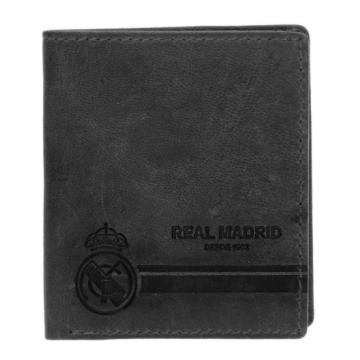 Real Madrid Bőr pénztárca (fekete)