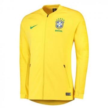 Brazil válogatott Bevonuló pulóver 2018/19