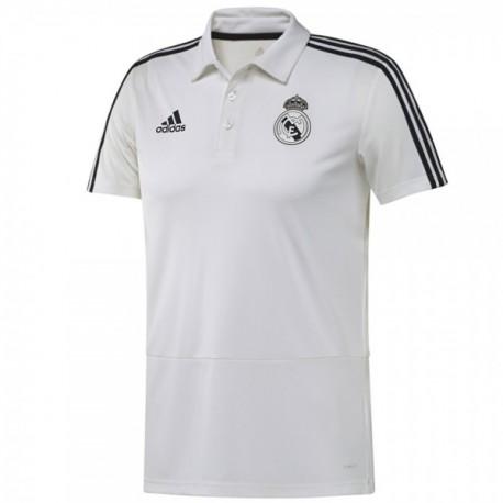 Real Madrid Póló 2018 19 (fehér) 52db983da1