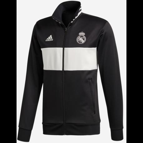 Real Madrid pulóver 2018 19 (Fekete-Fehér) e6ccccf66e