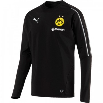 Borussia Dortmund Edző Pulóver 2017/18 (Fekete)