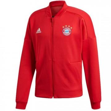 Bayern München  Bevonuló Pulóver 2018/19 (piros)