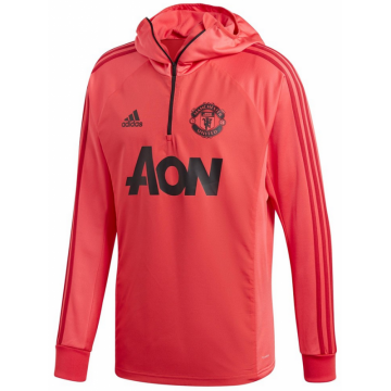Manchester United kapucnis edzőpulóver 2018/19