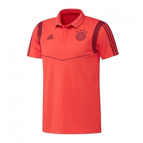 Bayern München Galléros póló 2019/20 (piros)