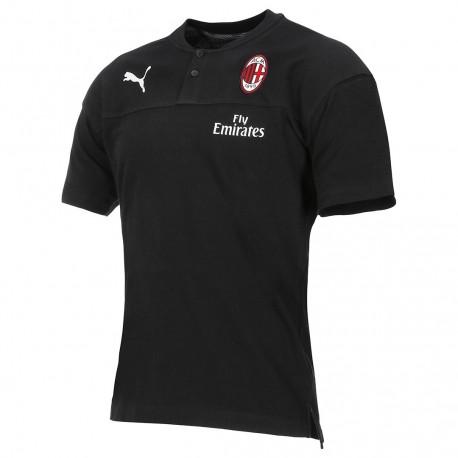 Ac Milan galléros póló 2019/20 (Fekete)