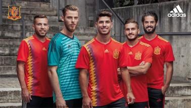 Spanyol válogatott mez