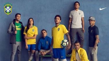 Brazil válogatott Mez