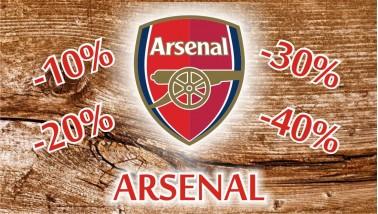 Arsenal Akciós termékek
